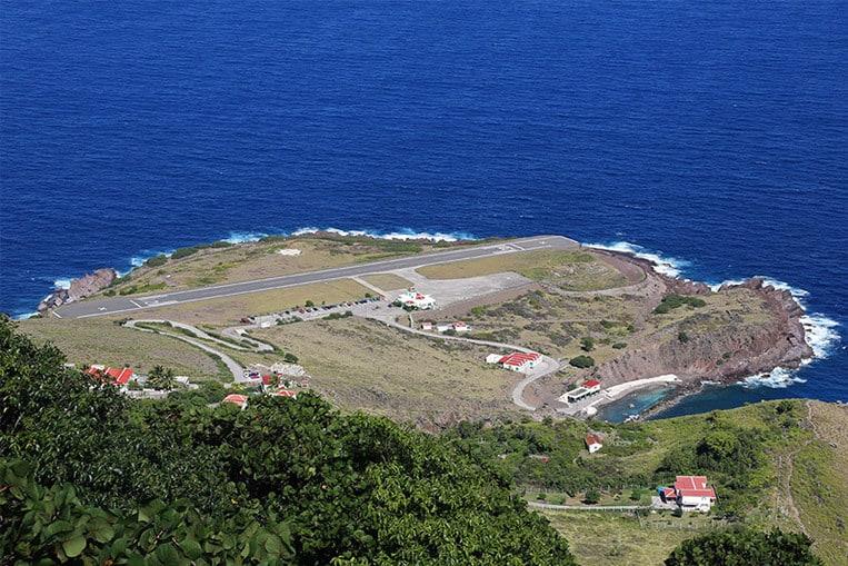 Aeropuerto Juancho E. Yrausquin, Isla de Saba