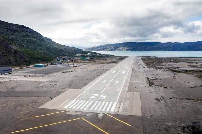 Aeropuerto de Narsarsuaq, Groenlandia