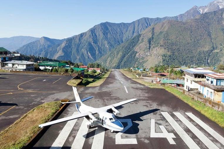 Aeropuerto de Tenzing-Hillary, Nepal
