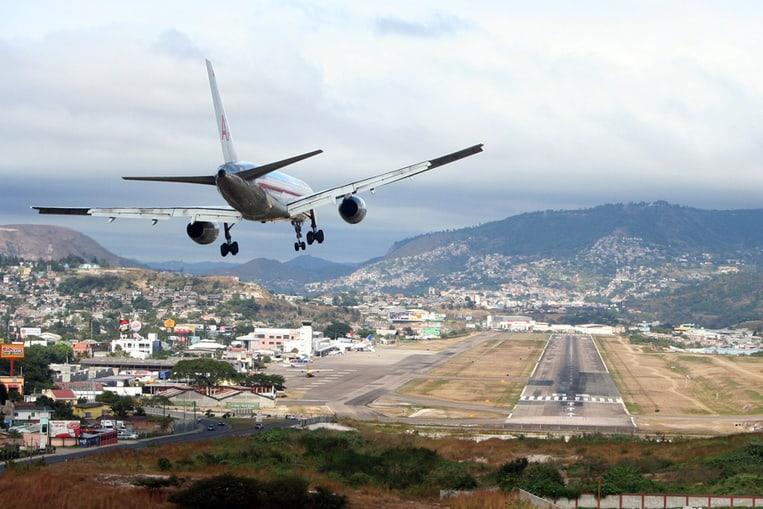 Aeropuerto Toncontin, Honduras