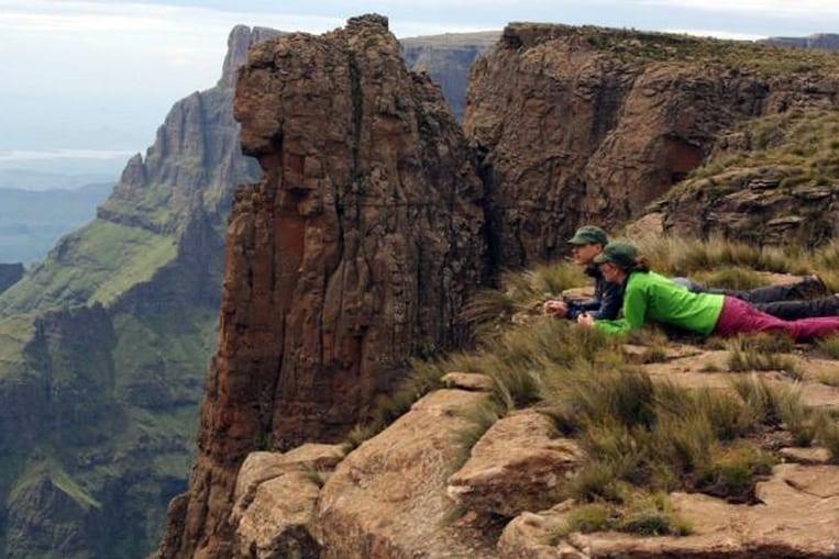 El Anfiteatro, uno de los picos más escarpados de Sudáfrica