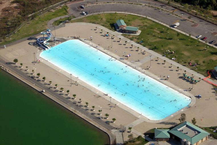 Hansen Dam Recreation Center, California