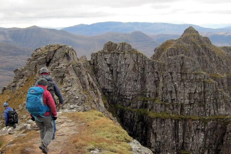 Liathach, la caminata escocesa al séptimo cielo
